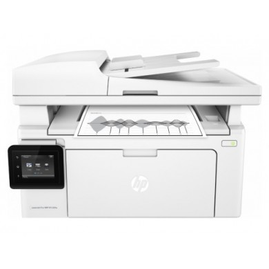 MFD HP LaserJet Pro M130fw, White, A4, Fax up to 22ppm, 256 MB, 35-sheets ADF, 2,7