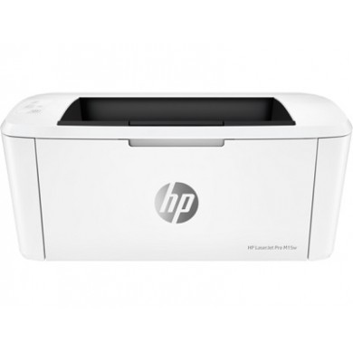 Printer HP LaserJet PRO M15w, White, A4, 600 dpi, up to 18 ppm, 16MB, Up to 8000 pages/month, USB 2.0, Wi-Fi 802.11b/g/n, Wi-Fi Directt, Apple AirPrint™, PCLmS, URF, PWG, CF244A Cartridge (~1000 pages) Starter ~500pages