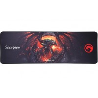 """MARVO """"G10"""", Gaming Mouse Pad, Dimensions: 920 x 300 x 5 mm, Material: rubber base + microfiber, Black"""