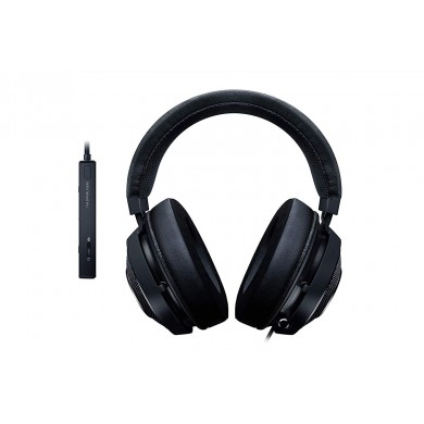 RAZER Kraken Tournament Edition Black / Gaming Headset, Retractable Microphone, featuring THX Spatial Audio for 360° sound, 50mm neodymium driver units, Ultra-durable Kevlar™ cable, compatible with devices with jack 3.5 mm, PS4, PC with USB