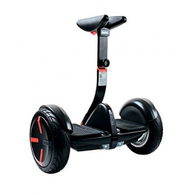 """Xiaomi Ninebot PRO Self Balancing Scooter, Black, Wheel 10.5"""", Speeds of up to:18km/h, Battery capacity:30km in a single charge, Weight:13kg, IP54, Auto-sensing LED taillight / turn, Maximum load: 120kg, Remote control via Smartphone"""
