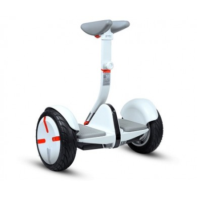 """Xiaomi Ninebot PRO Self Balancing Scooter, White, Wheel 10.5"""", Speeds of up to:18km/h, Battery capacity:30km in a single charge, Weight:13kg, IP54, Auto-sensing LED taillight / turn, Maximum load: 120kg, Remote control via Smartphone"""