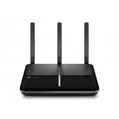 TP-LINK Archer C2300   AC2300 Dual Band Wireless Gigabit Router, 1625Mbps at 5Ghz + 600Mbps at 2.4Ghz, 802.11ac/a/b/g/n, 1 Gigabit WAN + 4 Gigabit LAN, MU-MIMO, Wireless On/Off and WPS button, 2xUSB, 3 detachable antennas