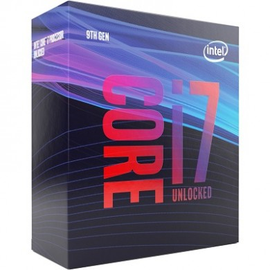 Intel® Core™ i7-9700K, S1151, 3.6-4.9GHz (8C/8T), 12MB Cache, Intel® UHD Graphics 630, 14nm 95W, Retail (without cooler)