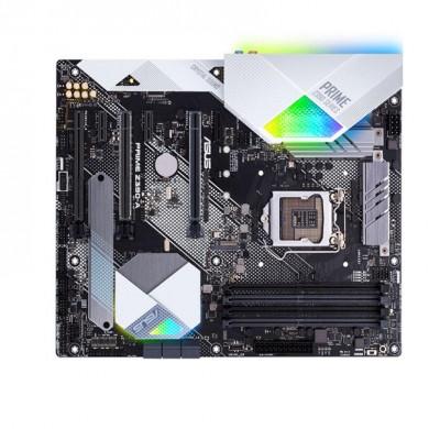 ASUS PRIME Z390-A, Socket 1151, Intel® Z390 (9th/8th Gen CPU), Dual 4xDDR4-4266, 3xPCIe X16, CPU Intel graphics, HDMI, DP, 6xSATA3, RAID, 2xM.2, S1220A HDA, GbE LAN, 4xUSB3.1 Gen 2 (Type-C & Type-A), 5xUSB3.1, Aura Sync, ATX