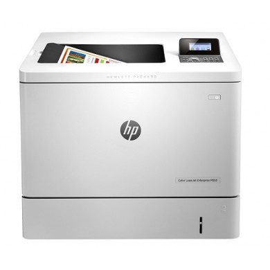 Printer HP Color LaserJet Pro M553n, White, A4, Up to 38ppm, 1200x1200 dpi, Up to 80000 p., 1GB DRAM, 4 line LCD display,  PCL 5c/6, Postscript 3, USB 2.0, Ethernet 10/100Base-TX, HP ePrint, Apple AirPrint™(HP 508A/X cartriges Black, C/Y/M)