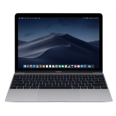 "APPLE MacBook 12.0"" (2017) Space Gray, 12.0"" Retina IPS (Intel® Dual Core™ M3 1.2-3.2GHz (Kaby Lake), 8GB RAM, 256GB SSD, Intel HD Graphics 615, WiFi-AC/BT4.2, 10 hours, Force Touch Trackpad, 480p Camera, Backlit KB, RUS, macOS, 0.92kg)"