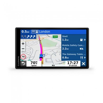 "GARMIN DriveSmart 65 MT-D, Licence map Europe+Moldova, 6.95"" LCD Edge-to-Edge (1024*600), MicroSD, Bluetooth, WiFi, Hands-free calling, Junction view, Lane assist, Smart notifications, Digital traffic updates, Battery life up to 1 hours, 239.6g"
