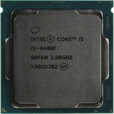 Intel® Core™ i5 9400F, S1151, 2.9-4.1GHz (6C/6T), 9MB Cache, No Integrated GPU, 14nm 65W, Box
