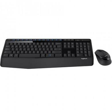 Logitech Wireless Combo MK345 USB, Keyboard + Mouse, Retail