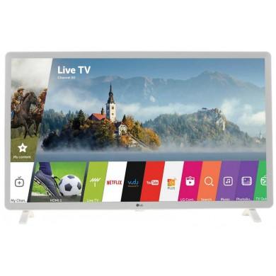 """32"""" LED TV LG 32LK6190, White, 1920x1080 (FHD), SmartTV (webOS), PMI 900, Virtual Surround Plus, 20ms, Contrast 5000:1, 220cd/m2, RMS 2x3W, HDMIx2, USB, WiFi+Lan, S/PDIF, DVB-T2/C/S2/CI+, Vesa 200x200"""