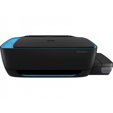 All-in-One Printer HP Ink Tank Wireless 419 + СНПЧ,Black/Blue, A4, up to 19ppm/16ppm black/color, up to 4800x1200 dpi, Wi-Fi Direct, Up to 1000 pages/month, 7 segment LCD, Hi-Speed USB 2.0, (GT51 Black 90ml, GT51XL Black 135ml, GT52 C/M/Y 70ml)
