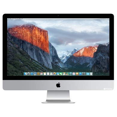 "All-in-One PC - 27.0"" APPLE iMac (Mid 2017) 5K Retina IPS, 3.5 GHz Intel Core i5 Quad-Core, 8GB DDR4 RAM, 2TB Fusion Drive, AMD Radeon Pro 580 8GB, Card Reader, Thunderbolt 3, 802.11ac Wi-Fi/BT4.2, Magic Keyboard & Magic Mouse 2, macOS High  Sierra"