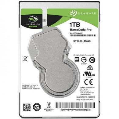 """2.5"""" HDD 1.0TB Seagate ST1000LM049 BarraCuda Pro™, 7200rpm, 128MB, 7mm, SATAIII"""