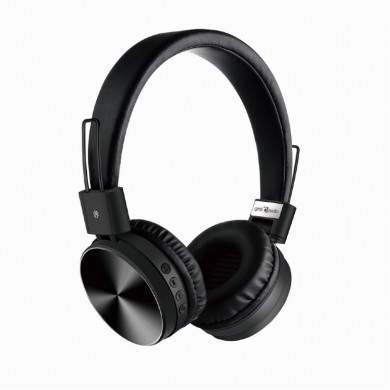 "Gembird BHP-KIX-BK  ""Kyoto"" - Black, Bluetooth Stereo Headphones with built-in Microphone, Bluetooth V4.2 +EDR, up to 250 hours of standby & 6 hours of listening time, distance: up to 8 m, Rechargeable 200mAh Li-ion battery, multifunction button"