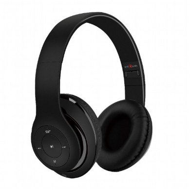 "Gembird BHP-MXP-BK  ""Milano"" - Black, Bluetooth Stereo Headphones with built-in Microphone, Bluetooth V4.2 +EDR, up to 250 hours of standby & 10 hours of listening time, distance: up to 8m, Rechargeable 300mAh Li-ion battery, multifunction button"