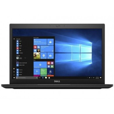 DELL Latitude 7490 Alluminium/Black, 14.0'' FHD Anti-Glare +W10Pro (Intel® Core™ i7-8650U up to 4.2GHz, 16GB  DDR4 RAM, 512GB SSD, Intel® UHD620 Graphics, CR, WiFi-AC/BT4.2, HDMI, USB-C, TB3, Backlit KB, 4cell, HD Webcam, FP,  Win 10 Pro, 1.4kg)