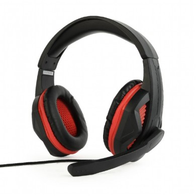 Gembird GHS-03, Gaming headset with Microphone, 3.5 mm plug x 2 pcs, Black
