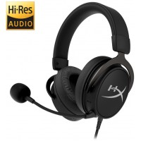 Bluetooth + Wired headset  HyperX Cloud MIX, Black, Built-in mic and a detachable mic, Frequency response: 10Hz–40,000 Hz, Dual Chamber Drivers, BT4.2 + Detachable 3.5 jack (1.3m) braided cable + PC extension cable (2m), Pure Hi-Fi capable