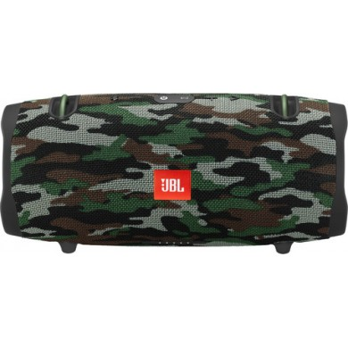 JBL Xtreme 2 Camouflage / Bluetooth Portable Speaker, 40W (2x20W) RMS, BT Type 4.2, Frequency response:  55Hz–20kHz, IPX7 Waterproof, Speakerphone, 10000mAh power bank USB 5V/2A ,  JBL Connect+, Power supply: 19V 3A, Battery life (up to) 15 hr