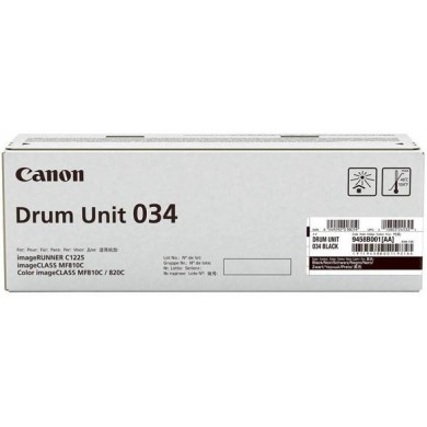 Drum Unit Canon C-EXV034 Black, xx 000 pages A4 at 5% for Canon iR