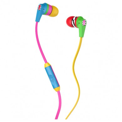 SkullCandy S2IKHY-488 RIOT in-ear w/Mic 1, locals only/multi/multi