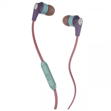 SkullCandy S2IKJY-530 Ink'd 2.0 Purple/Salmon/Green Mic1