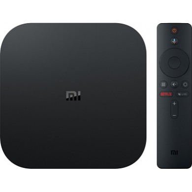 Xiaomi Mi TV Box S EU 4K Media player, Quad-Core 64-bit 2.0GHz, Mali-450, RAM 2GB, ROM 8GB, WiFi-AC / BT4.1, Video up to H.265 4K @60fps/ WMV3, 1080P@60fps/ Real 8-10 720P@60fps, DTS 2.0+Digital Out, Android 8.0, HDMI V2.0, RC