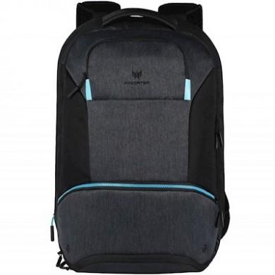 "15"" NB Backpack - ACER Predator Hybrid Backpack  PBG810 - Water Resistant Exterior, Black/Teal Blue."