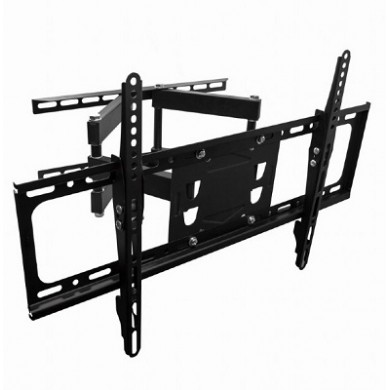 "TV-Wall Mount for 32-65""- Gembird ""WM-65RT-03"", Rotation-Tilt, max. 40kg, Tilting angle 15°, Distance TV to Wall:  72 - 420 mm, max. VESA 600 x 400, Black"