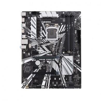 ASUS PRIME Z390-P, Socket 1151, Intel® Z390 (9th/8th Gen CPU), Dual 4xDDR4-4266, 2xPCIe X16, CPU Intel graphics, HDMI, DP, 4xSATA3, 4xPCIex1, RAID, 3xM.2(M+E key), ALC887 HDA, GbE LAN, 2xUSB3.1 Gen 2, 6xUSB3.1, Aura Sync RGB, ATX