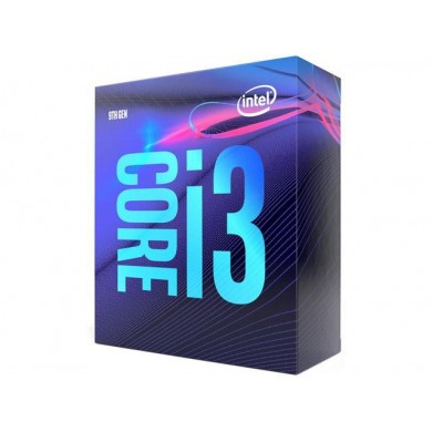 Intel® Core™ i3-9100, S1151, 3.6-4.2GHz (4C/4T), 6MB Cache, Intel® UHD Graphics 630, 14nm 65W, tray
