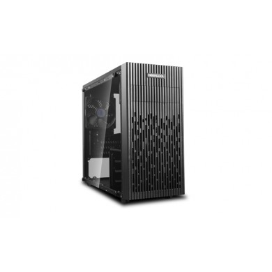 "DEEPCOOL ""MATREXX 30"" Micro-ATX Case with Side-Window, without PSU, 1x 120mm black fan, VGA Compatibility: 250mm, support cable management, 2x 2.5"" Drive Bays, 3x 3.5"" Drive Bays,1xUSB3.0, 1xUSB2.0 /Audio, Black"