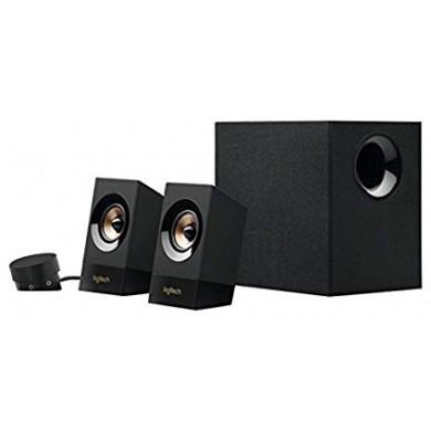 Logitech Z533 Speaker System 2.1 (RMS 60W, 30W subwoofer, 2x15W), Black
