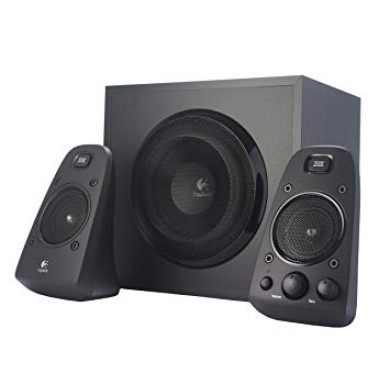 Logitech Z623 Speaker System 2.1 (RMS 200W, 130W subwoofer, 2x35W), THX Certified, Black