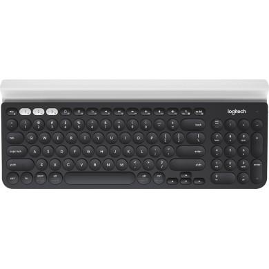 Logitech Wireless Multi-Device Keyboard K780, Full-size, Cradle, FN key, Unifying protocol (2.4GHz) Bluetooth Smart technology