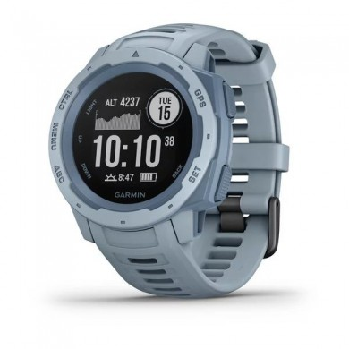 GARMIN Instinct, Sea Foam, Military standard 810G for thermal, Water rating 10ATM, GPS, Compass, barometric altimeter, Battery life Smart mode: Up to 2 weeks, up to 16 hours in GPS, 52g