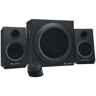 Logitech Z333 Speaker System 2.1 (RMS 40W, 24W subwoofer, 2x8W), Black
