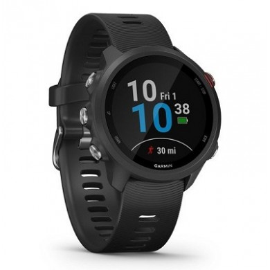 GARMIN Forerunner 245, Music Black, Music Storage Bluetooth, ANT+ ,Activity Tracker, Timer, Stopwatch, Smart notificatiions, GPS, Compass, Accelerometer, Pulse Ox, 38.5 g