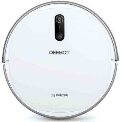 ECOVACS Robot Vacuum Cleaning DEEBOT 710, Smart Navigation 2.0, App Control, Self Charging, 3-stage cleaning system for effortless cleanliness, Working Time: 2h, Anti-Drop, Anti-Block, Anti-Collision, Voice Report, Continuation Mode