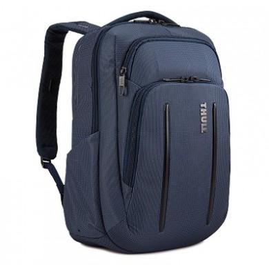 "14-15"" NB Backpack 20L- THULE Crossover 2, Dress blue, Safe-zone, 840D nylon, 330D nylon mini ripstop, Dimensions: 31 x 19 x 43 cm, Weight 1.09 kg, Volume 20L"