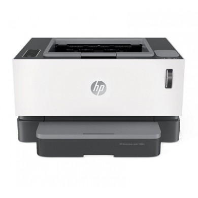 Printer HP Neverstop Laser 1000a, White,  A4, 600 dpi, up to 20 ppm, 32MB, up to 20000 pages/month, High speed USB 2.0, PCLmS, URF, PWG (Reload kit W1103A and W1103AD, drum W1104A )