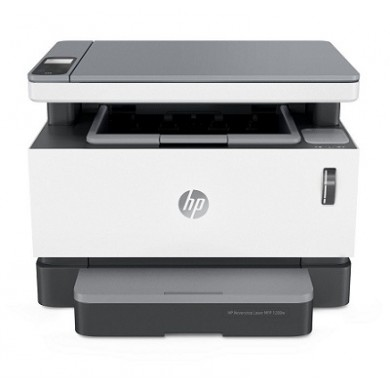 All-in-One Printer HP Neverstop Laser MFP 1200w, White, 600 dpi,  A4, up to 20 ppm, 64MB, up to 20000 pages/month, High speed USB 2.0, Wi-Fi 802.11b/g/n, Wi-Fi Direct print by apps, PCLmS, URF, PWG (Reload kit W1103A and W1103AD, drum W1104A )