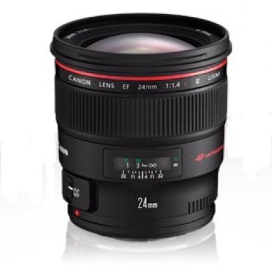 Prime Lens Canon EF 24 mm f/1.4 L II USM (2750B005)