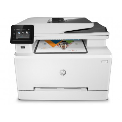 All-in-One Printer HP LaserJet Pro MFP M428fdn, White, A4, Fax 38ppm, 256MB, Duplex, 50 sheet ADF, 1200dpi, 2.7