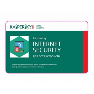 Renewal - Kaspersky Internet Security Multi-Device - 10 devices, 12 months, Card
