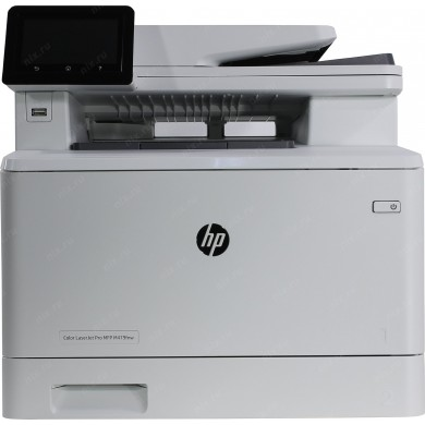 "All-in-One Printer HP Color LaserJet MFP M479fdn, White, A4, Fax, 27ppm, Duplex, 256 MB, Up to 50000 pages, 50-sheet  ADF, 4,3"" touch display, USB 2.0, Ethernet 10/100/1000, HP PCL 5,6; Postcript 3, HP ePrint, Apple AirPrint  (HP 415A/X B/C/Y/M)"