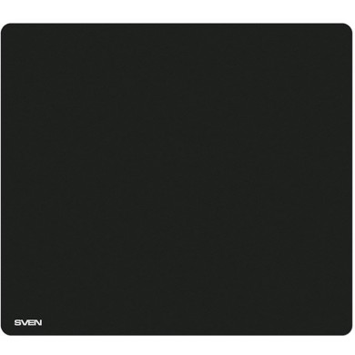 SVEN MP-GS2M, Gaming Mouse pad, Dimensions: 320 x 270 х 3 mm, Material: pique fabric + synthetic rubber, Overstitch on the edge, Non-slip rubber base