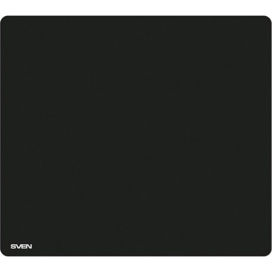 SVEN MP-GS2L, Gaming Mouse pad, Dimensions: 450 x 400 х 3 mm, Material: pique fabric + synthetic rubber, Overstitch on the edge, Non-slip rubber base