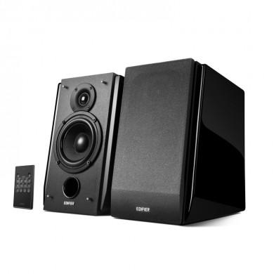 Edifier R1850DB Black, 2.0/ 70W (2x35W) RMS, Audio In: Bluetooth, RCA x2, PC, AUX, optical, coaxial, remote control, all wooden(4